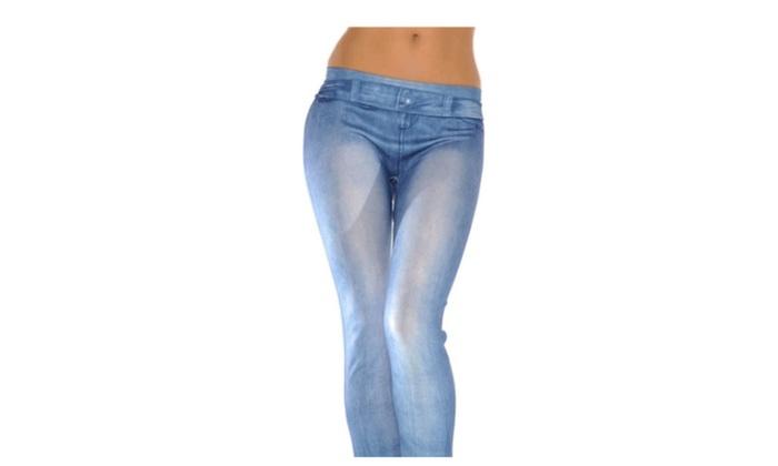 Women's Fashionable Apparel Slim Leggings Jean Jeggings