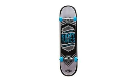 Bravo Sports 163684 31 in. Flag Blue Drop-In Complete Skateboard fa95b6f8-a821-4903-b966-f8d09889325e