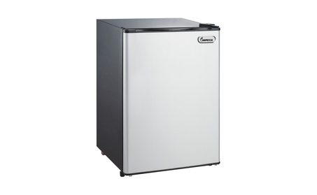 New 4.4 cu. Refrigerator compact impecca rc1443W white or titanium be3282e4-ca9b-46b9-9584-30e87dad27d5