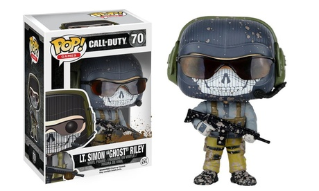 "Funko Pop Games: Call of Duty LT. Simon ""Ghost"" Riley Collectible Action Figure 86d8b83f-963a-43c2-a6a5-38cb1eaea008"