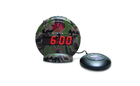 Sonic Alert Bunker Bomb - Turbo Charged Loud + Vibrating Alarm Clock 8c4d5a08-a6c2-4add-ba11-13ee45801ce9