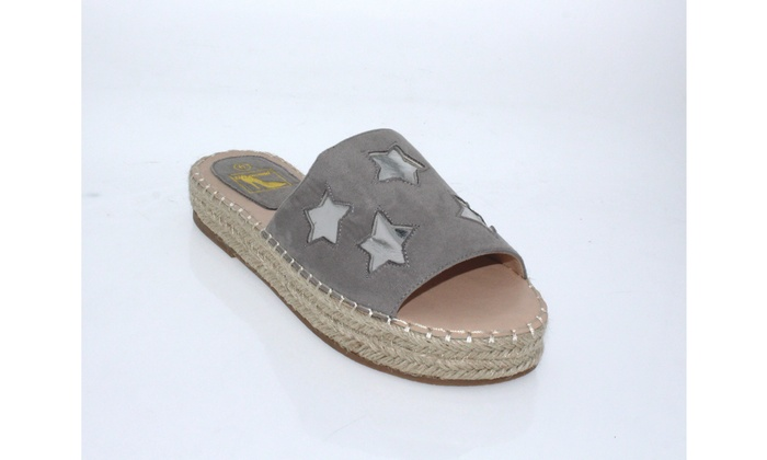 n demand shoes izabelle espadrille sandals la119 groupon
