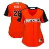 Women National League Buster Posey Orange AllStar Game Jersey