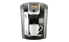 Shop Groupon Keurig K575 Single Serve Programmable K Cup Coffee Maker Platinum