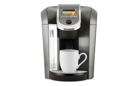 Keurig K575 Single Serve Programmable K-Cup Coffee Maker, Platinum 178a1256-834b-4060-9bbe-f106df30bc7d