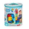 Mega Bloks 80-Piece Big Building Bag, Classic -BLUE