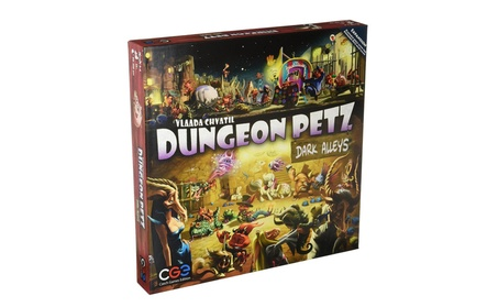 Czech Games Edition Inc 00024 Dungeon Petz - Dark Alleys c6f4c483-6893-4cbc-8130-6336e0258bed