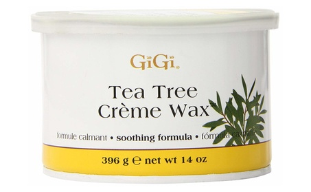 Gigi Wax 0240 Tea Tree Creme Wax 14Oz. a986fa0f-4ba1-47f9-aa29-3afa87396c80
