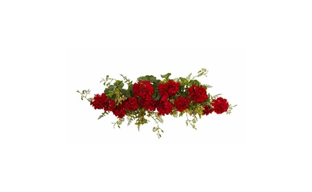 Nearly Natural Home Decor Geranium And Berry Swag 2b59bb0a-a943-439d-87d1-b8b0dcc5f9fe