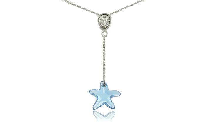 ecddf66c5c25d Up To 37% Off on Light Blue Starfish Drop Neck... | Groupon Goods