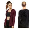 2 Pack Lightweight Everyday Cotton Hoodie Jacket (Active or Casual)