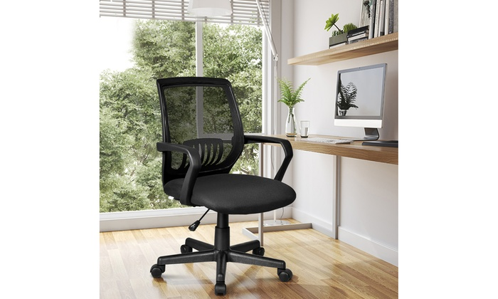Astounding Up To 24 Off On Costway Office Chair Mesh Cha Groupon Caraccident5 Cool Chair Designs And Ideas Caraccident5Info