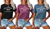 Womens Rose Apothecary Graphic Tees Summer Funny Short Sleeve Tops