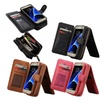 vintage Leather Flip Card Wallet Case for Samsung Galaxy S7 Edge