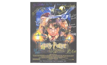 Harry Potter Autographed Poster 65357118-107d-430e-a5f0-f6ee792e8354