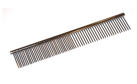 "Pet Dog Cat Grooming Stainless Steel 7.4"" Comb 26bc28c2-cd6a-45ba-937d-57286bc40345"