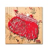 Roderick Stevens Snap Purse Red Canvas Print