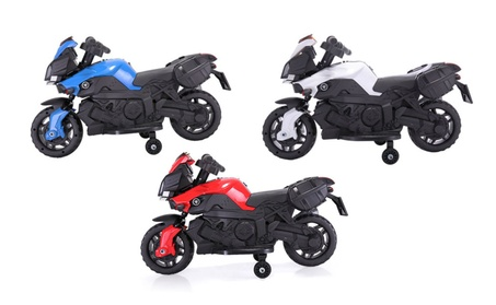 Kids Ride On Motorcycle Battery Powered 4 Wheel Bicycle Electric Toy 79587df7-c082-4e36-a46f-6a568ec2ee11