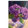 David Lloyd Glover 'Hydrangea Glass Bowl' Canvas Art