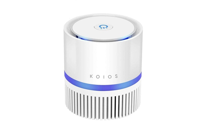 KOIOS Air Purifier, Indoor Air Cleaner with 3 in 1 True HEPA Filter for