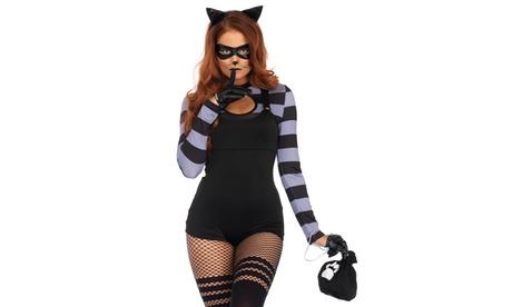 Leg Avenue Women's Sexy Cat Burglar Halloween Costume