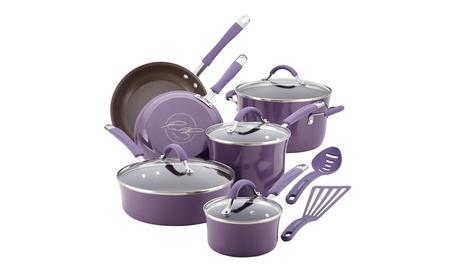Rachael Ray Cucina Hard Porcelain Enamel Nonstick Cookware Set e6d85c42-0565-4fcb-add1-a075d9f22f1b