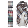 Large Soft Plaid Checked Blanket Scarf Shawl Wrap