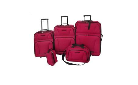 5-Piece Luggage Travel Set Expandable Trolley Suitcase Duffel Bag eaae2681-50b0-4f32-b73f-4f8f0d332166