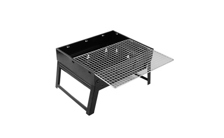 Grill Folding Portable Stainless Charcoal BBQ Steel Barbecue 0182d80d-1bb4-49ca-a954-c20769941bd0