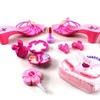 Princess Susy Play Fashion Set, Pair of Shoes, Bag, Hair Clips, Mock Cell Phone