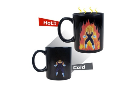 Dragon Ball Z Vegeta Ceramic Heat Reactive Color Changing Mug da68fec7-0dc9-4fc3-a84f-fa81cfa21e35