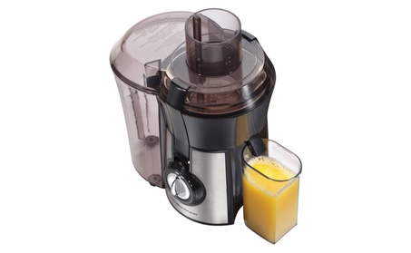Hamilton Beach 67608 Big Mouth Juice Extractor, Stainless Steel 030fc9b6-e609-4968-8b93-d6a09f1da2db