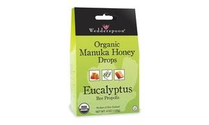 Wedderspoon Organic Manuka Honey Lozenges