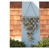 Ancient Graffiti Shimmering Bells Butterflies Wall Sculpture