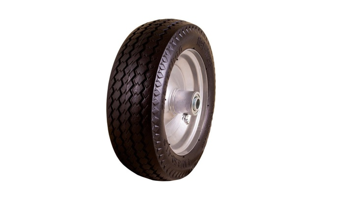 Gs Marathon 00010 Flat Free Hand Truck Tire 4 10 3 50 X 4 on office depot dollies