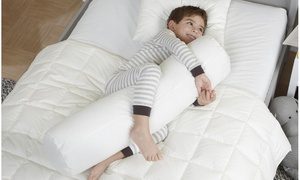 Body Pillow for Kid & Toddlers 100% cotton unbleached organic hypoallergenic