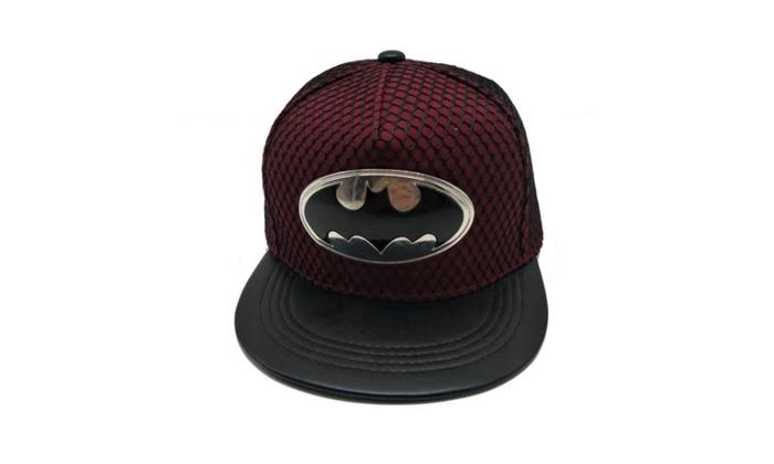 Batman Metal Standard Hip Hop Street Slide Skateboard Cap