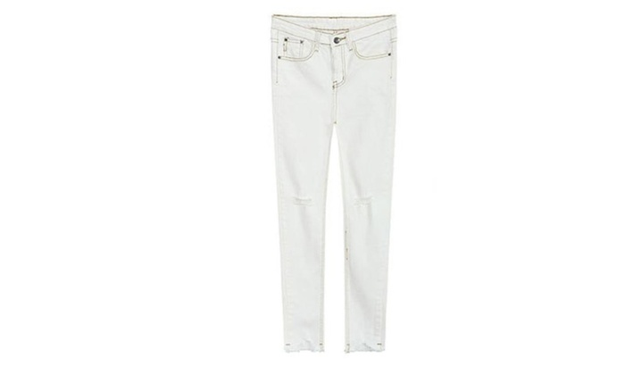 Women's Insulation Solid Regular Fit Casual Pants