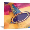 Listen to the Colorful Music Music Metal Wall Art 28x12