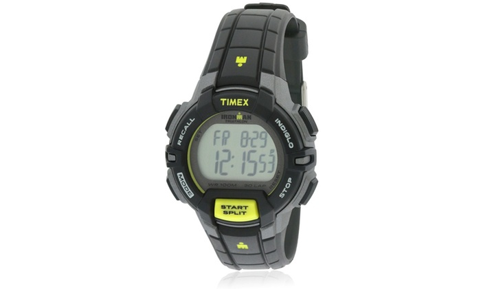 fad02c5e0 Timex Ironman Rugged Mid-Size Mens Watch T5K809 | Groupon