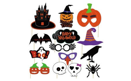 Halloween Photo Booth Props Kit Halloween Party Decorations 4a89df40-f83a-44f6-9d22-8e9611bb209a