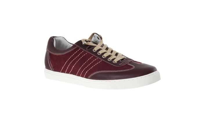 Johnston & Murphy Men's 'Roster' Athletic-inspired Lace-up Shoes, Red