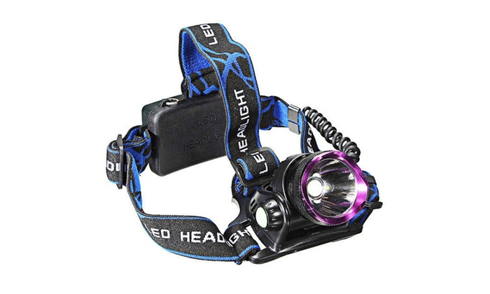 LED Aluminum 1-Bulb 2000LM 3 Modes Waterproof Headlamp