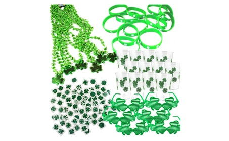 Joyin Toy 108 Pieces St. Patrick's Day Party Favor Set 4f93f576-8886-4a10-ae77-c02cca818666