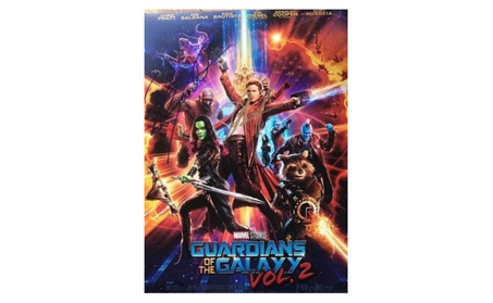 Guardians of the Galaxy Vol. 2 Autographed Movie Poster c9164c67-f574-430d-a34e-3af01ff8c086