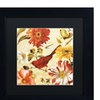 Lisa Audit 'Rainbow Garden Spice III' Matted Black Framed Art