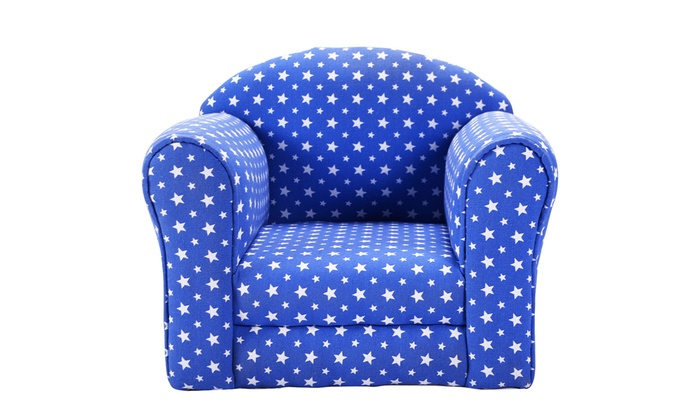 ... Kid Sofa Armrest Chair Couch Children Living Room Toddler Furniture  W/Stars ...
