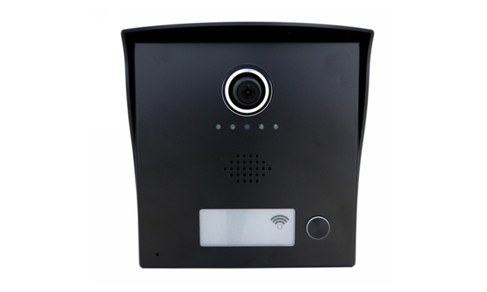 Sykik EYE Wi-Fi Video Door Bell HD Video Camera w/ Remote Door Open