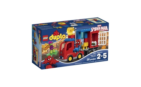 LEGO Super Heroes Spider-Man Spider Truck Adventure Building Kit 72d7fca1-e388-4566-81e5-fc7115a326f4