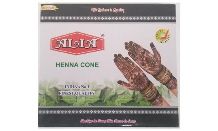 New Alia Black Henna Cones Jumbo Size Groupon